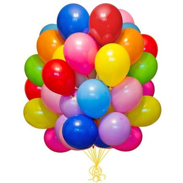 Фото 30 - Кулька наповнена гелієм (26 см.), літає 8-10 год..