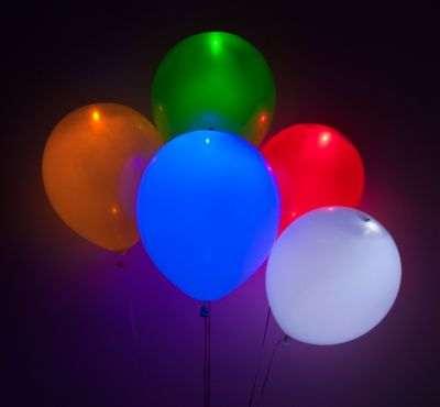 """Фото 35 - Кулька-ліхтарик 11"""" (28-30 см) наповнена гелієм."""