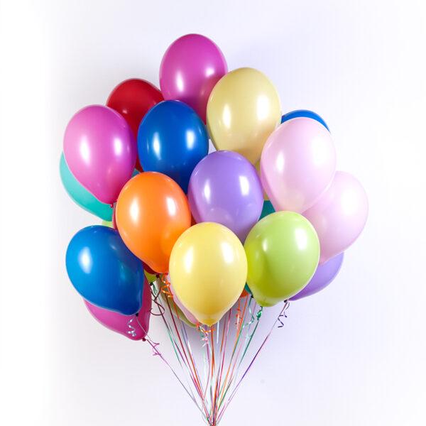 Фото 1 - Кулька наповнена гелієм (26 см.), літає до 2 діб..