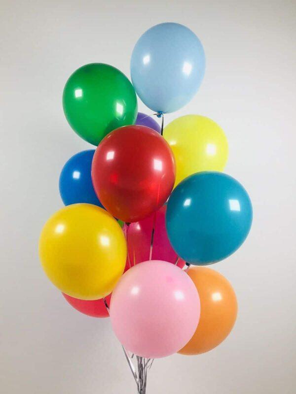 """Фото 2 - Кулька 10"""" (22-25 см) наповнена повітрям."""