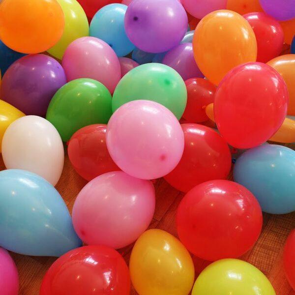 """Фото 1 - Кулька 10"""" (22-25 см) наповнена повітрям."""