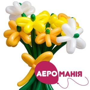 Фото 31 - Букет квітів з ШДМ.