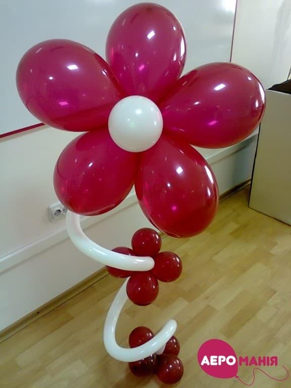 Фото 6 - Композиція Квітка на стебельці.