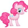 Фото 2 - Фольгована кулька тематична Pinkie Pie.