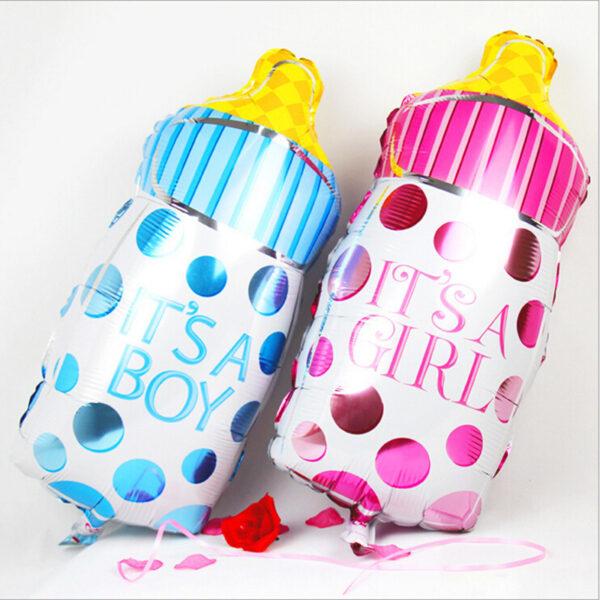 Фото 33 - Фольгована кулька для новороджених бутилочка.