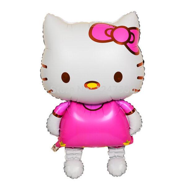 Фото 29 - Фольгована кулька тематична Hello Kitty.