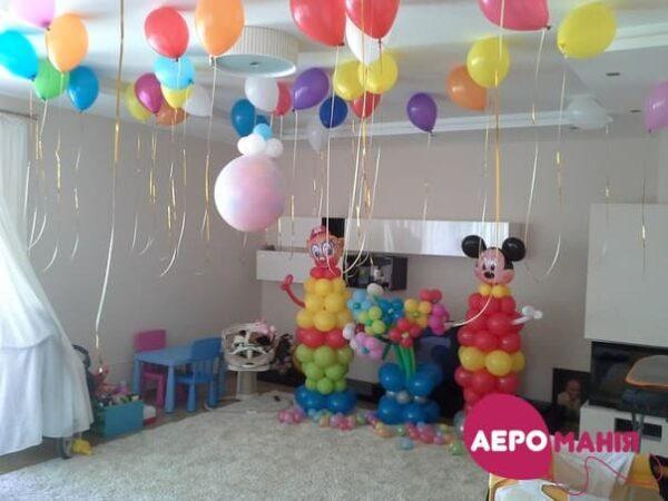 Фото 23 - Куля-сюрприз наповнена повітрям з кульками (всередині від 100 шт.).