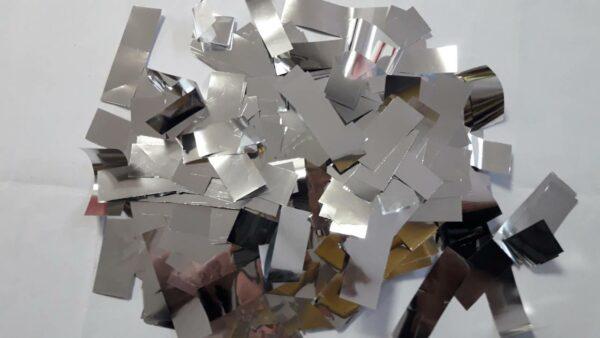 Фото 24 - Конфеті метафан срібний.