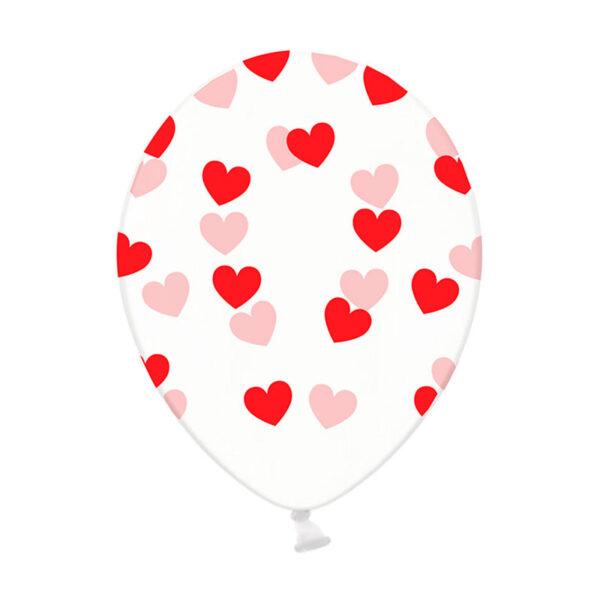Фото 10 - Прозора кулька з конфетті сердечка.