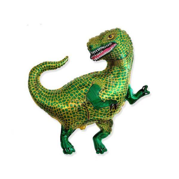 Фото 25 - Фольгована кулька динозавр.