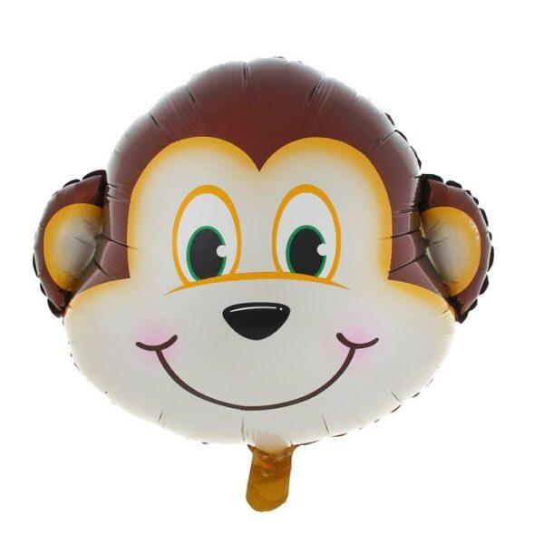 Фото 24 - Фольгована кулька голова мавпи.
