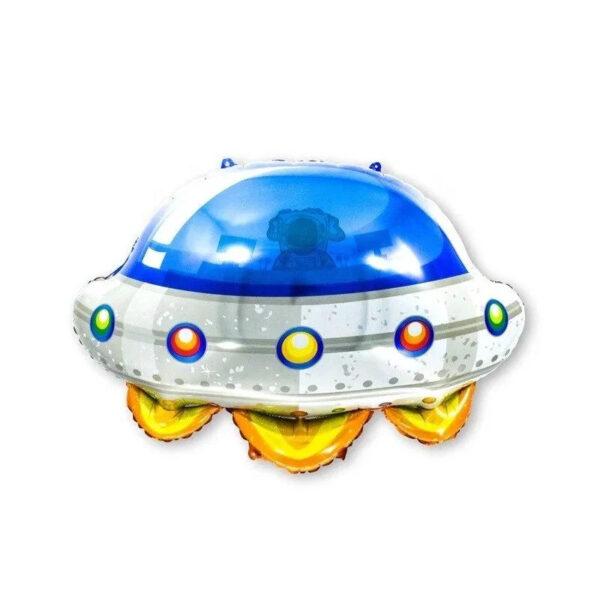 Фото 1 - Фольгована кулька літаюча тарілка.