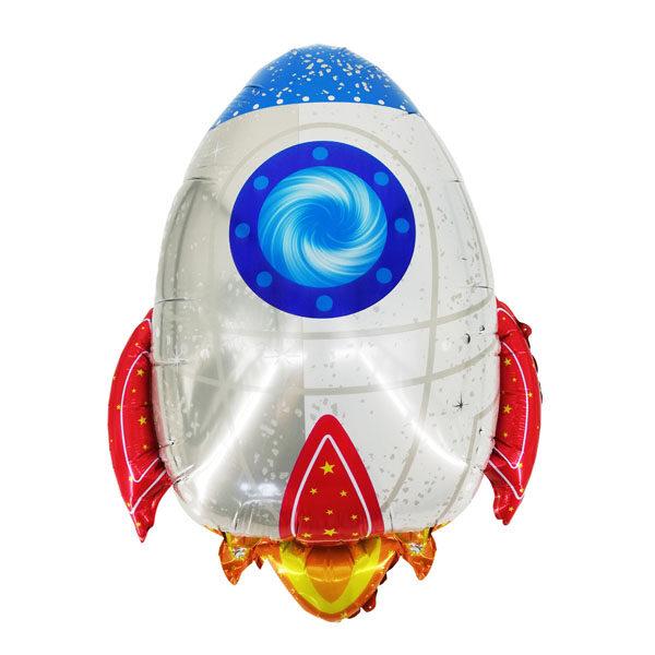 Фото 63 - Фольгована кулька ракета.