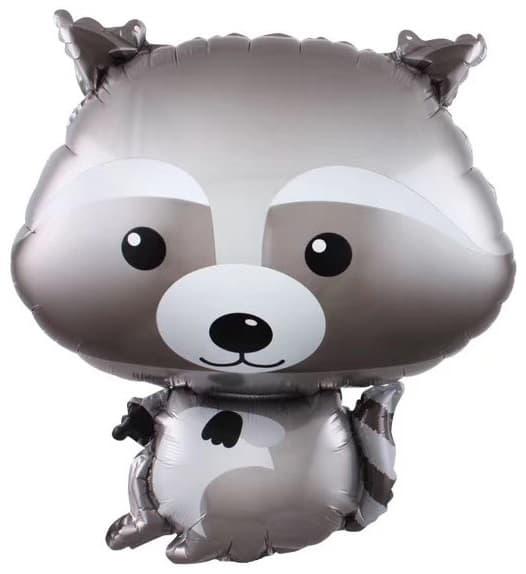 Фото 23 - Фольгована кулька єнотик.