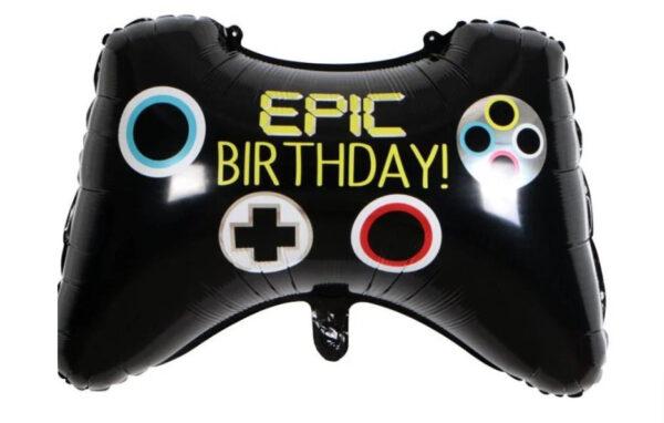 "Фото 23 - Фольгована кулька джойcтик ""Epic birthday""."