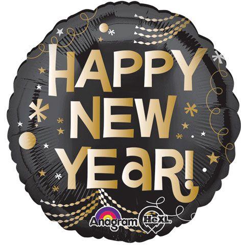 """Фото 23 - Фольгована кулька """"Happy new year""""."""