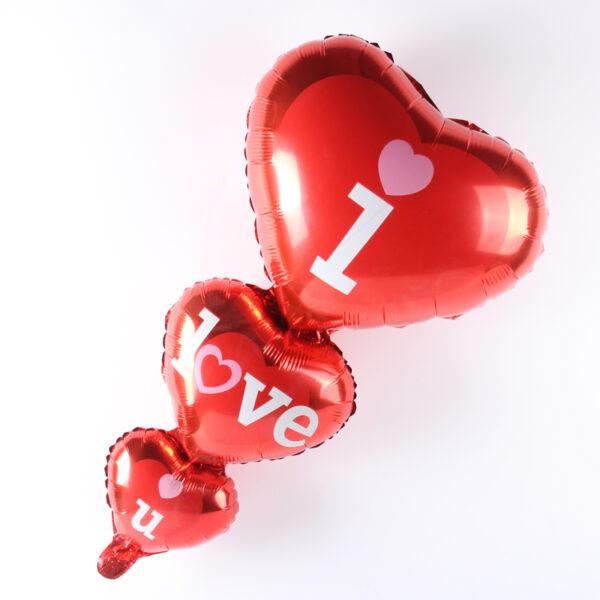"""Фото 40 - Фольгована кулька """"I Love U""""."""