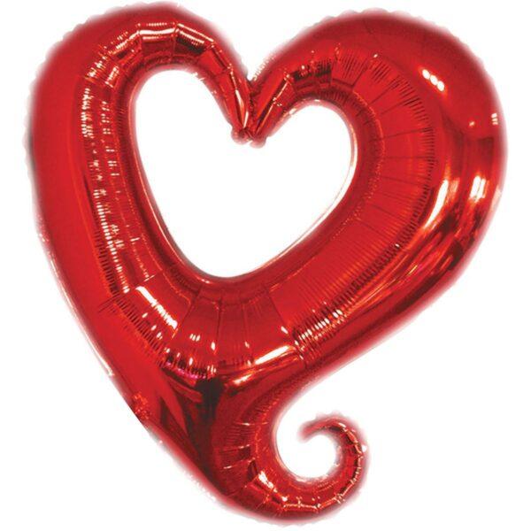 Фото 1 - Кулька Фігурне серце.