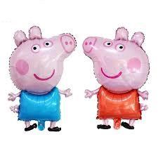 """Фото 23 - Фольгована кулька """"Свинка пеппа""""."""
