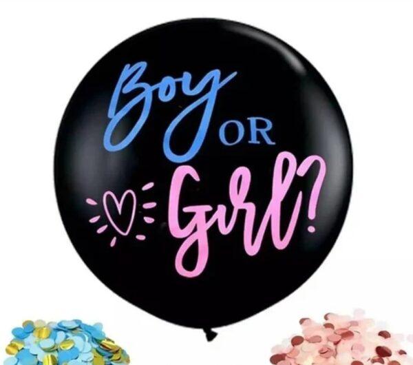 Фото 1 - Гендерна мега кулька.