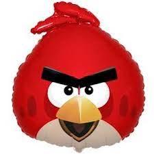 Фото 1 - Кулька Angry bird red.