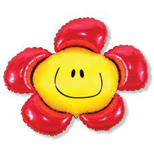 Фото 23 - Кулька Квітка смайл.